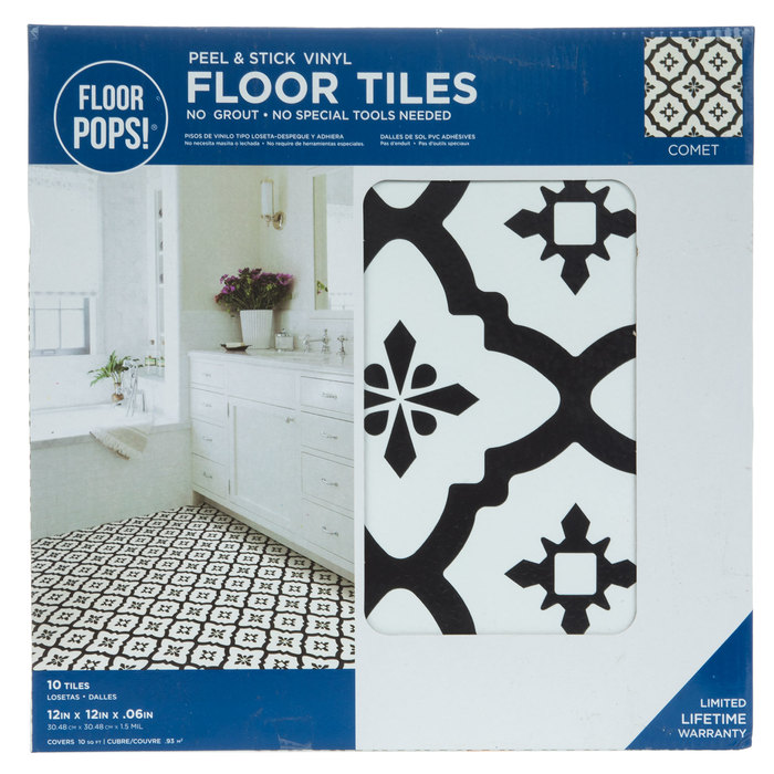 Comet Peel Stick Vinyl Floor Tiles Hobby Lobby 1879071