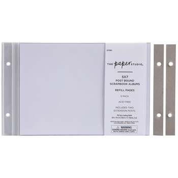 """Album Refill Pages - 5"""" x 7"""""""
