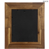 Light Brown Wood Wall Frame - 8