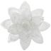 White & Rose Gold Lotus Flower