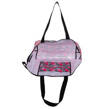 Black & White Striped Watermelon Tote Bag