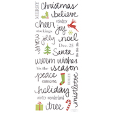 Handwritten Christmas Stickers