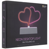 Red & Pink Hearts LED Neon Lamp