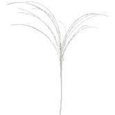Iridescent Glitter Grass Pick