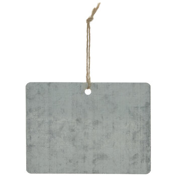 Galvanized Metal Gift Tags