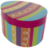 Bright Striped Egg Box