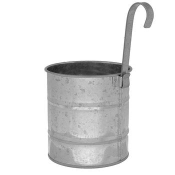 Galvanized Metal Hanging Can