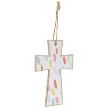 Dash Wood Wall Cross
