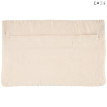 Natural Macrame Pillow Cover