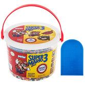 Super Mario Bros. 3 Perler Bead Activity Bucket