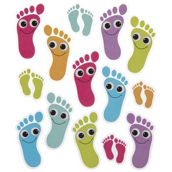 Footprints Stickers