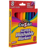 Classic Super Washable Broadline Markers - 8 Piece Set