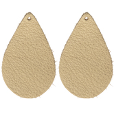 Teardrop Leather Blanks