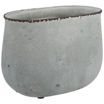Oval Flower Pot