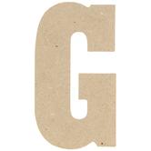 "Wood Letter G - 5"""