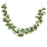 Green Boxwood Garland