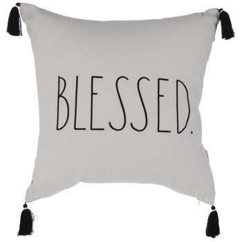 Blessed Plaid Pillow- ! Regularly .99!