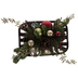 Pine, Holly & Ornament Arrangement