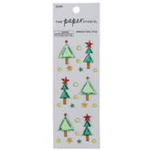 Christmas Tree Rhinestone Stickers