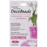Pink Crystal Accents Deco Beads