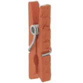 Orange Clothespins - Small