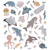 Sea Life Foil Stickers