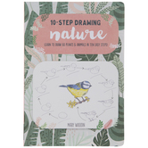 10-Step Drawing Nature