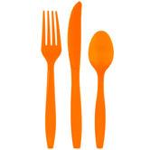 Orange Assorted Cutlery