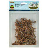 Wire Foliage Dry Leaves & Branches Assortment