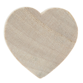 Heart Wood Shapes - 1""