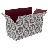 Merry Christmas Wreath Mailing Box