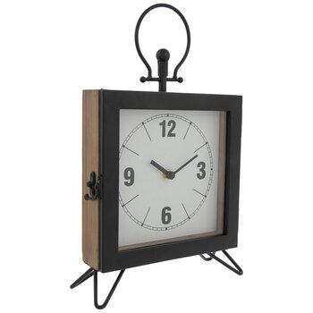 Modern Fusion Wood Clock