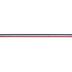 Red, White & Blue Striped Grosgrain Ribbon - 5/8