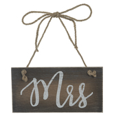 Mrs Wood Chair Sign