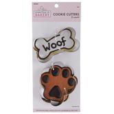 Bone & Paw Metal Cookie Cutters
