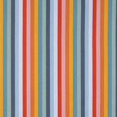 Multi-Color Striped Cotton Calico Fabric