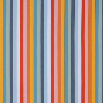 Multi Color Striped Cotton Calico Fabric Hobby Lobby 1916402