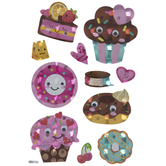 Sweets & Treats Holographic Stickers