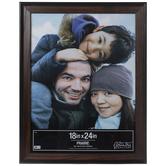 """Oak Beveled Wood Wall Frame - 18"""" x 24"""""""
