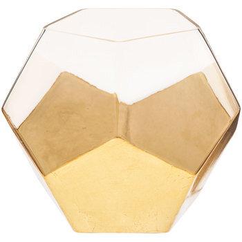 Gold Geometric Sphere Vase