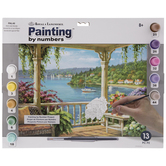 Silver Lake Veranda Paint By Number Kit