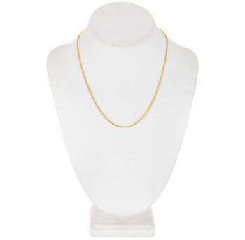 """Curb Chain Necklace - 18"""""""
