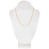 10K Gold Plated Curb Chain Necklace - 18