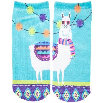 Llama Low Cut Socks