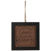 Many Blessings Ornament