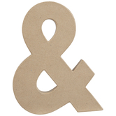 """Paper Mache Ampersand - 8 1/4"""""""