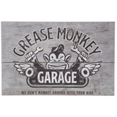Grease Monkey Garage Wood Wall Decor