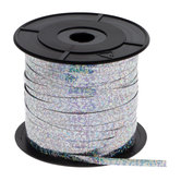 """Silver Holographic Curling Ribbon - 3/16"""""""