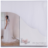 White Chapel-Length Veil