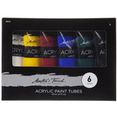 Acrylic Paint - 6 Piece Set